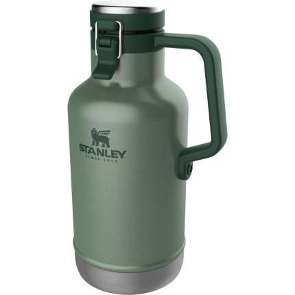 Термос Stanley The Easy-Pour Beer Growler 10-01941-067, зеленый, 1,9 л