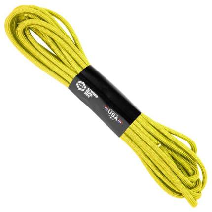 Паракорд 550 желтого цвета 5 метров Atwood Rope MFG