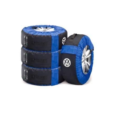 Чехлы для колес VW (4 шт в комплекте) VAG 000073900