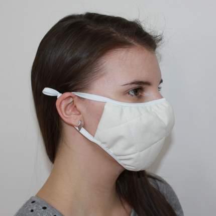 Многоразовая защитная маска EcoSapiens ES-600 белая 3 шт.