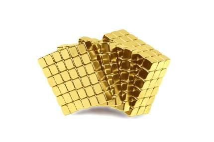 Куб из магнитных кубиков 5 мм Forceberg TetraCube, золотой