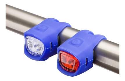 Велосипедный фонарь комплект JING YI 3204T синий