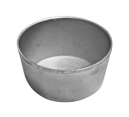 Форма хлебная круглая алюм. литая для маффинов 75х65х35мм.