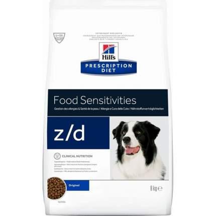 Сухой корм для собак Hill's Prescription Diet z\\d, мясо,  8кг