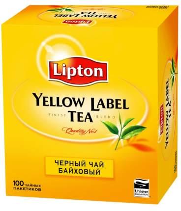 Чай Lipton черный байховый 100 пакетиков 200 г
