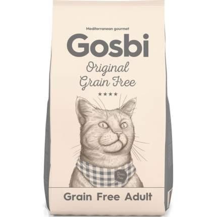 Gosbi Original Cat Grain Free сухой беззерновой корм для кошек с курицей Adult 12 кг