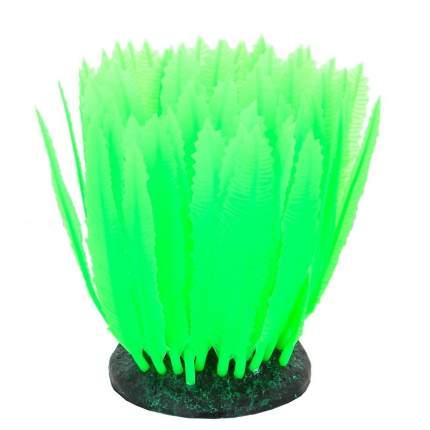 Gloxy флуоресцентная аквариумная декорация морская лилия, зеленая 10х7,5х11 см