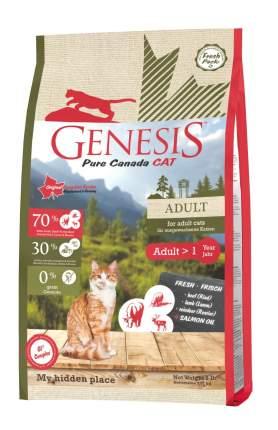 Genesis Pure Canada My hidden place сухой корм для кошек говядина ягненок олень 2,26 кг