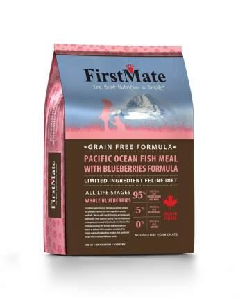 FirstMate Pacific Ocean Fish Meal сухой корм для кошек с рыбой и голубикой 4,54 кг