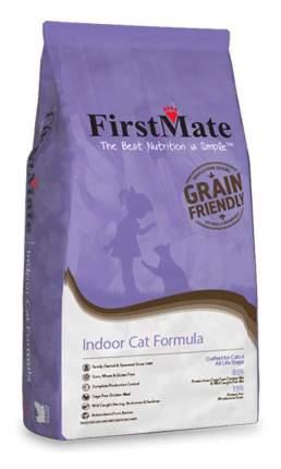 FirstMate Indoor Cat сухой низкозерновой корм для домашних котят и кошек 6 кг
