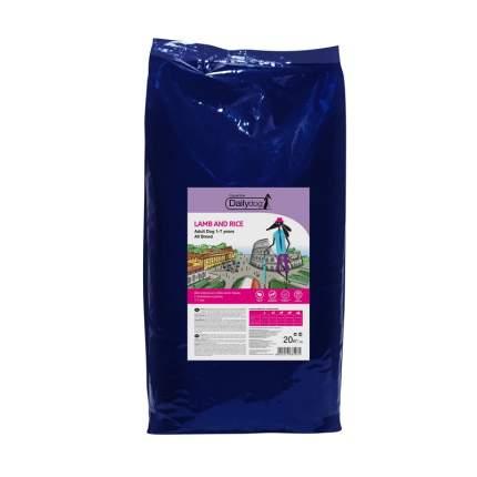 Dailydog Adult All Breed сухой корм для собак всех пород с ягненком и рисом 20 кг