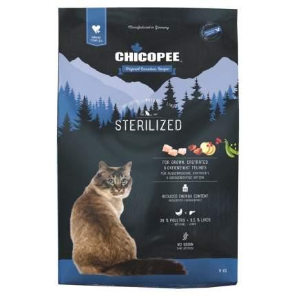 Chicopee HNL Cat Sterilized сухой корм для стерилизованных кошек 8 кг