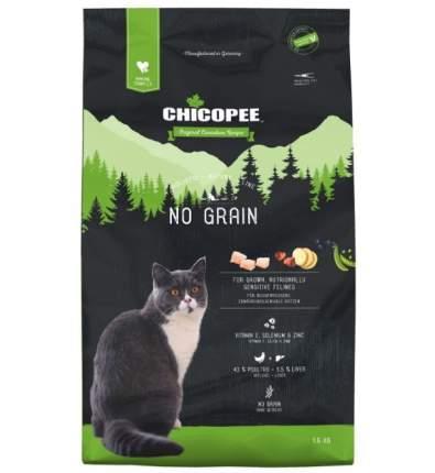 Chicopee HNL Cat No Grain сухой беззерновой корм для кошек 1,5 кг