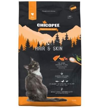 Chicopee HNL Cat Hair & Skin сухой корм для кошек для кожи и шерсти 1,5 кг