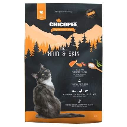 Chicopee HNL Cat Hair & Skin сухой корм для кошек для кожи и шерсти 8 кг