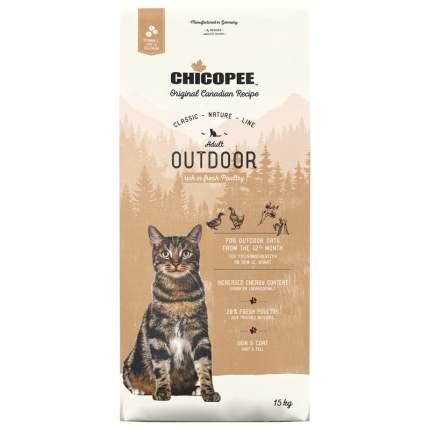 Chicopee CNL Cat Adult Outdoor сухой корм для кошек, бывающих на улице, с птицей 15кг