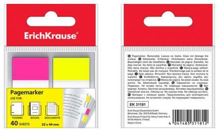 Пластиковые Закладки С Клеевым Краем Erich Krause 2Х44Х25