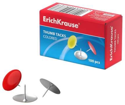 Кнопки Цветные ErichKrause 100 Шт,