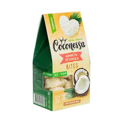 Конфеты кокосовые Coconessa Сердечки оригинальные (без сахара) 90г Россия