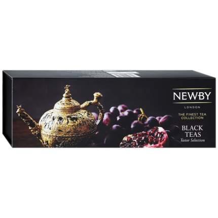 Чайный набор Newby Коллекция Черных Чаев листовой 4 х 25 г в п/у Индия