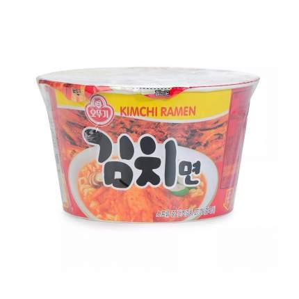 Лапша со вкусом кимчи Ottogi 105 г, Южная Корея