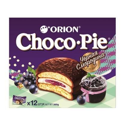 Печенье Orion Чоко Пай черная смородина в глазури 360г Россия