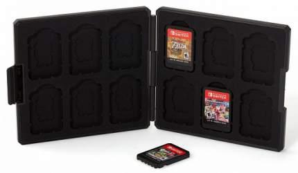 Кейс для хранения картриджей Hori Zelda NSW-038U Black