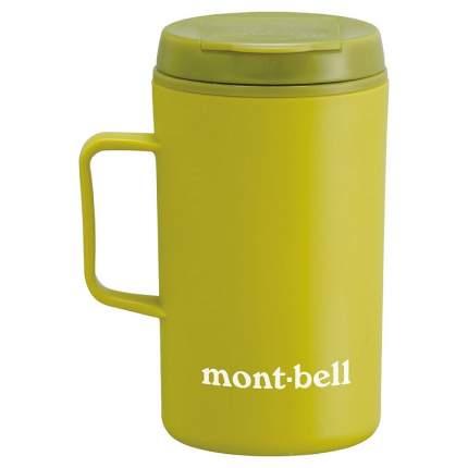 MontBell термокружка Termo Mug MB Logo 330мл LEGN зеленая