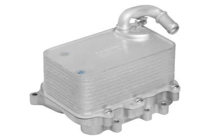 Радиатор масляный в сборе с фланцем Touareg II (10-)/ A6 (11-) 3.0D LUZAR LOc 1839