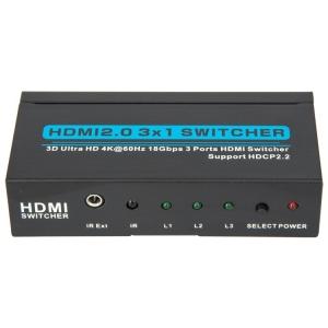 Свитч Vconn HDMI 3х1