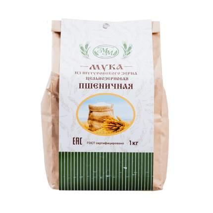 Мука пшеничная из шугуровского зерна хлебопекарная, «Мокшанский мельник», 1 кг