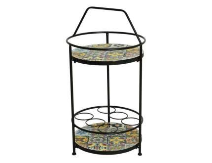 Стол для дачи Kaemingk Андалусия 840730 multicolor 40x40x76 см