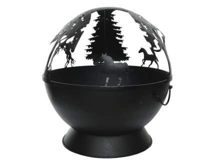 Чаша для костра Kaemingk 842722 Лесные лошадки
