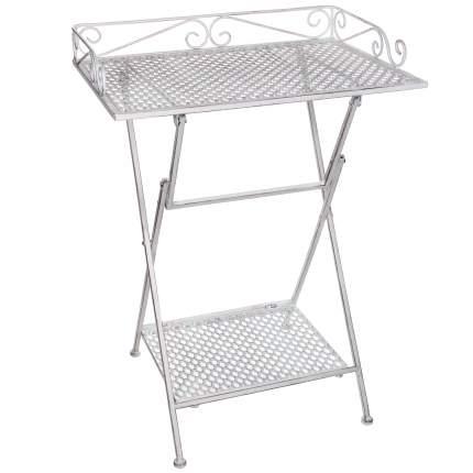Стол для дачи Kaemingk Ажурный прованс 1023707 white 50,5x39x67 см