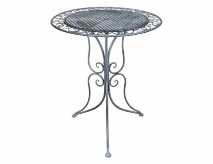 Садовый стол Kaemingk 1011830 серый 70х60 см