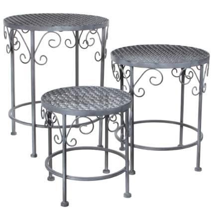 Набор дачной мебели Kaemingk 1011806 серый 43х35 см