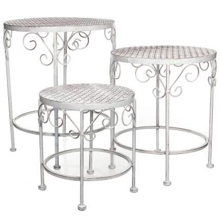 Набор дачной мебели Kaemingk 1006598 белый 43х35 см