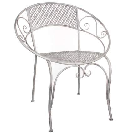 Садовое кресло Kaemingk 1006595 белое 65,5х57х76 см