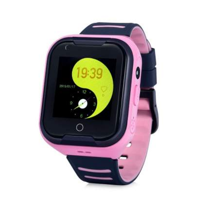 Детские смарт-часы Wonlex Smart Baby Watch KT11 4G Pink/Pink