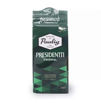 Кофе молотый Paulig Presidentti Original 250г Финляндия