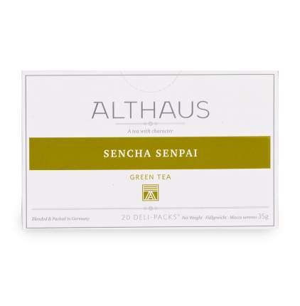 Чай зеленый Althaus Сенча Сенпай 20 х 1.8 г Германия