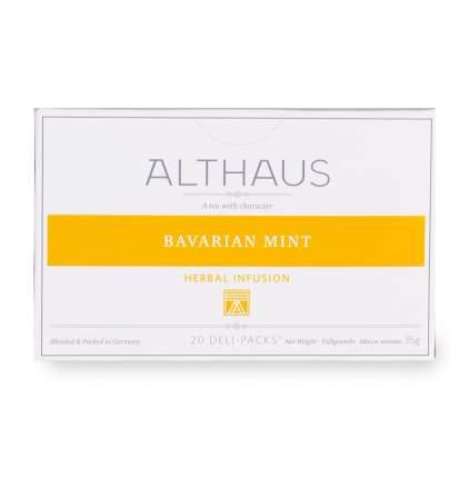 Чай травяной «Баварская мята», Althaus, 20х1.8 г, Германия