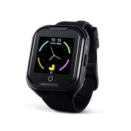 Детские смарт-часы Wonlex Smart Baby Watch KT11 4G Black/Black