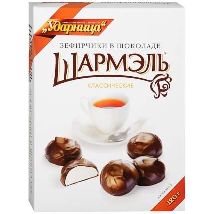 Зефирчики Ударница в шоколаде 120 г Россия