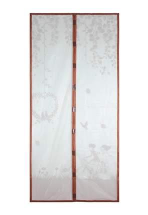 Москитная сетка ЕГ Деревья с магнитными защелками для двери (100х210 см)