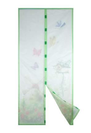 Москитная сетка ЕГ Бабочки с магнитными защелками 100х210 см