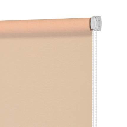 Рулонная штора Decofest Миниролл Аспен Абрикосовый 90x160 160x90 см