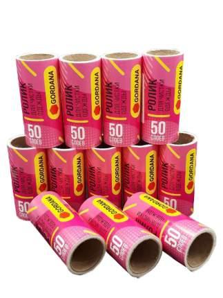 Запасной блок ролика для чистки одежды Gordana 12 шт по 50 листов