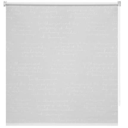 Рулонная штора Decofest Миниролл Письмо Белый 40x160 160x40 см