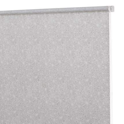 Рулонная штора Decofest Миниролл Принт Ажурные узоры Бежевый 40x160 160x40 см